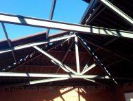 Soldadura de estructuras metálicas ligeras